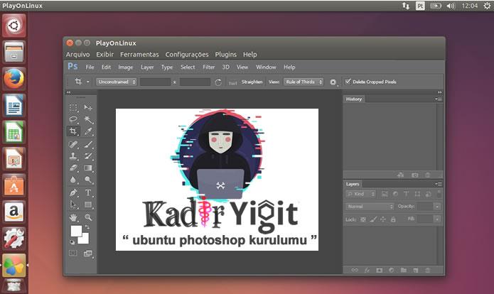 Ubuntu işletim sistemine Adobe photoshop kurulumu nasıl yapılır ?